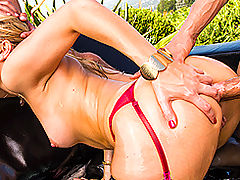 Babes Vids: Brazzers Video Two Cocks On Fire