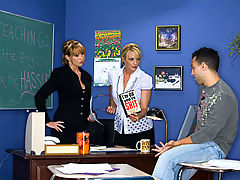 Comics, Sindy Lange, Roxy Anne & Mikey Butders as Sexy Teacher