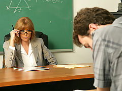 Bigtits Officesex, Darla Crane & James Deen as Sexy Teacher