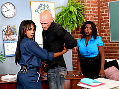 Panther, Vivica Coxx & Johnny Sins as Sexy Teacher