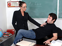 Bigtits Officesex, Katrina Isis as Sexy Teacher