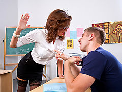 Veronica Avluv & Danny Wylde as Sexy Teacher