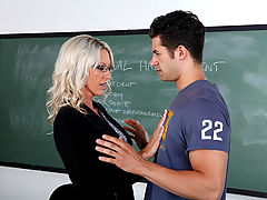 Busty Women Movies, Emma Starr & Giovanni Francesco as Sexy Teacher