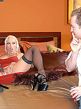 Kelly Madison Pics: Content of Nicki Hunter - Nicki Hunter was doing a video shoot for us, 413 Productions, in our new studio. Our graphic designers were having a tough time trying to work with all the moaning in the background so Ryan decided to be a generous boss and...