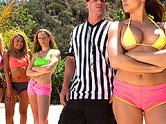 Brazzers Free Hot and Sweaty Volleyballs