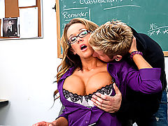 Femjoy, Nikki Sexx & Danny Wylde as Sexy Teacher