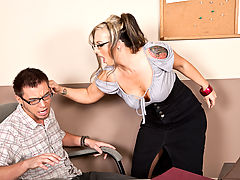 Shay Morgan & Dane Cross as Sexy Teacher