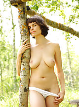 Busty Sex, Rimma is feeling great posing nude in amazing outdoor