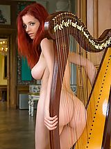 Femjoy - Ariel in Beautiful Harpist