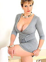 British busty slim mature hot wife