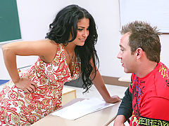 Bouncing Boobs, Sophia Lomeli & Will Powers as Sexy Teacher