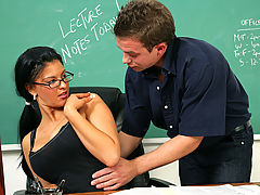 Marilyn Scott & Scott Stone as Sexy Teacher