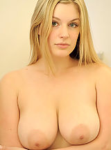 FTV Girls Pics: Danielle strips down and showers her pussy and titties