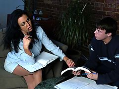 Bigtits Officesex, Angelica Sin & Trent Soluri as Sexy Teacher