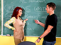Nikki Sinn & Chris Johnson as Sexy Teacher