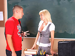 Bigtits Officesex, Holly Sampson & David Loso as Sexy Teacher