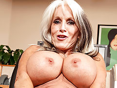 nice cleavage, Sally D Angelo