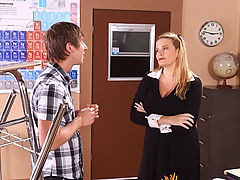Bouncing Boobs, Lynn LeMay & Danny Wylde as Sexy Teacher