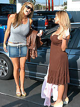 Kelly Madison and Kate Frost0