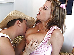 Hanging Tits Videos, I love cowboys. I love sucking all the milk out of their big cocks. I love getting on top of them and riding there dicks like a wild bull. My goal is to fuck every cowboy out there and make them all scream YEE-HAW!!!