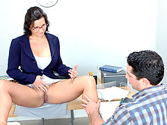 Office Vids: Cynthia Pendragon & Travis Lee as Sexy Teacher