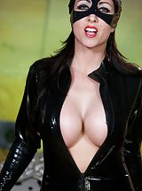 nicetits, Fashionable UK Lady and Filthy Whore Meow!! pretty kitty in her latex catsuit