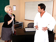 Mrs. Jewell & Alan Stafford as Sexy Teacher