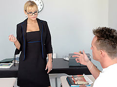Office Vids: Sandy Simmers & Donny Long as Sexy Teacher