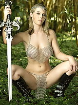 Celebrity Pics: WoW nude avelia hanging tits forest
