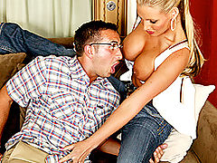 Brazzers Videos Your mom's hot ass loves my nerd cock!