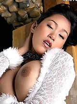 Busty Movies, Asian Women irene fah a4y 03 bigtits hanging lingerie