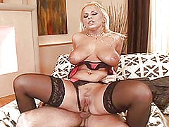 Big Tits Porn, Busty blonde Lucy Love enjoys some hard anal sex
