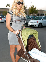 Kelly brings home Britney and Ryan doesn't know if to freak out or fuck, he figures it out and fucks them on the baby stroller.