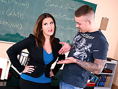 Big Tits Fetish, Austin Kincaid & Jarrod Steed as Sexy Teacher