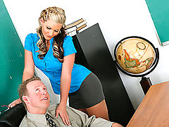 Bigtits Officesex, Phoenix Marie & Mark Wood as Sexy Teacher