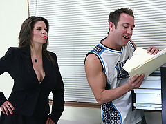 Hard Nipples, June Summers & Will Powers as Sexy Teacher
