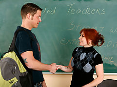 Bigtits Officesex, Brittany O'Connell & Chris Johnson as Sexy Teacher