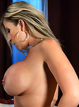 Bouncing Boobs, Weird Sex Toys and Huge Dildos inside pussy of Sara Jay