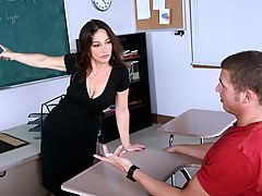 Bigtits Officesex, Melissa Monet & Chris Johnson as Sexy Teacher