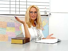 Bigtits Officesex, Diamond Foxxx as Sexy Teacher