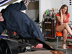 Brazzers Getting screwed by the Mechanic