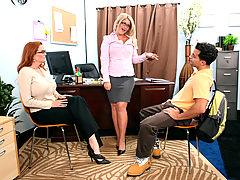 Cali Chase, Kitti Lynxxx & Mikey Butders as Sexy Teacher