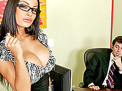 Busty Vintage, Brazzers Free A Real Office Whore