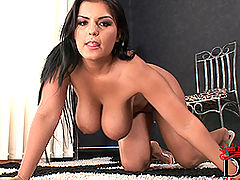 tits nice, Busty Jasmine Black's kinky masturbation with toy