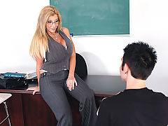 Group Sex, Sara Jay & Danny Wylde as Sexy Teacher