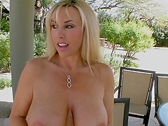 Busty Housewives, Cum Crazy Wifey in poolguy fucking