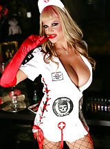 Bouncing Boobs, Young Dr. Cockenstein gives rise once again to the cock that can tame Kelly.
