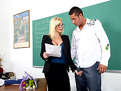 Latina Vids: Holly Sampson & Danny Mountain as Sexy Teacher