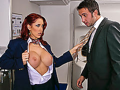 Bouncing Boobs, Brazzers Videos Tits On A Plane Part 2
