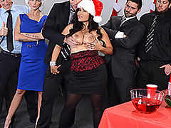 Brazzers Free Office Christmas Celebration